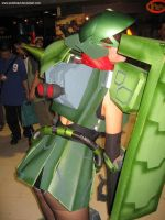 Mobile Suit Girl Zaku 3 by polidread