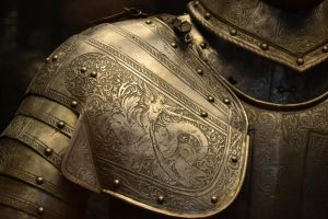 Medieval armor by SpoonH