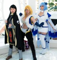 Rogue, Sting, and Yukino of Sabertooth! by xAvacynx