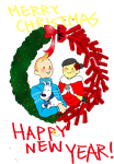 Tintin-merry new year by SAcommeSASSY