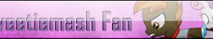 Fan Button: Sweetiemash Fan by SilverRomance