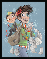 Arthur Christmas by sharkie19