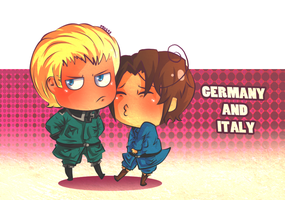 Request: Germany and Italy by PB1593