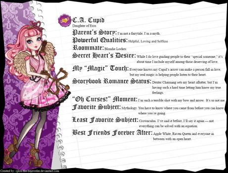 Ever After High - C. A. Cupid's Full Bio v3 by cjlou-the-bejeweler