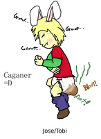 Nontraditional Caganer by Baby-Tobias