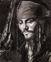 Jack Sparrow by GrizzlySlippers