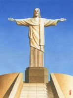Christ the Redeemer by toniart57