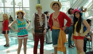 Who were these characters from One Piece? by trivto