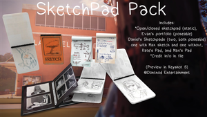 LiS - SketchPad Pack by angelic-noir