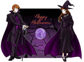 Happy Halloween by Angel-soma