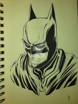 Batman Injustice 2 scketch by UltimateRubberFool