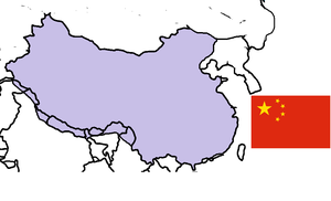 Map of the Chinese Union (New Age of Empires by JoaoMordecaiMapper