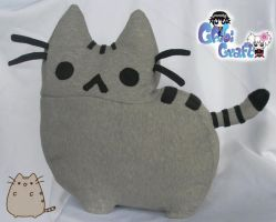 Pusheen the Cat Plushie by ChibiCraftPlushies