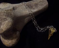 Charm of the Golgtha- Silver by TormentedArtifacts