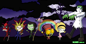 Invader ZIM Halloween Party--2016 by Spectra22