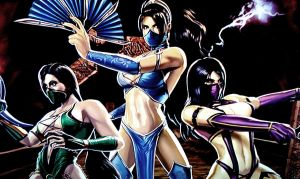 MK Girls by SamiEggPower