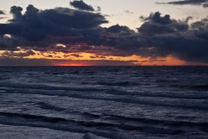 Stormy Sunset by EvaMcDermott