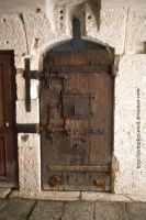 dungeon door by eyefeather-stock