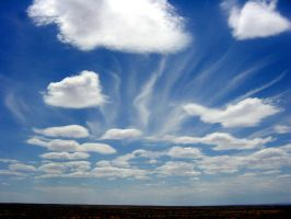 Dsc00046 Great clouds over mesa by Synaptica-stock