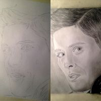 Jensen Ackles WIP by Arspe