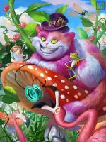 Grinning Cheshire Cat adv by Toru-meow