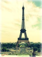 The Eiffel by Ricebunii