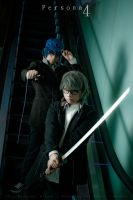 P4 - Protagonist and Detective Prince by KURA-rin