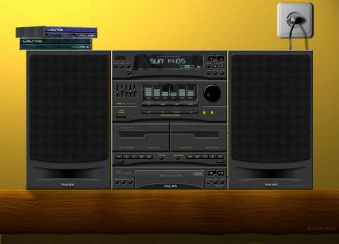 Photoshop Hifi System by siltrince