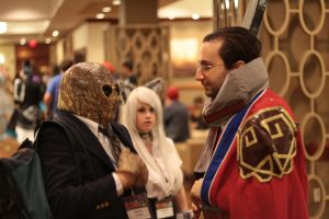 Anime Boston 2013 - Auron and The Silence by VideoGameStupid