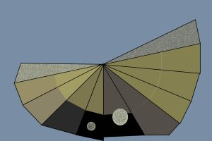 The Bovenzi Suite 5 : the gold and moon fan by Peterhoff3
