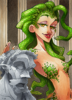 ACEO #42 Medusa by RoteGruetze