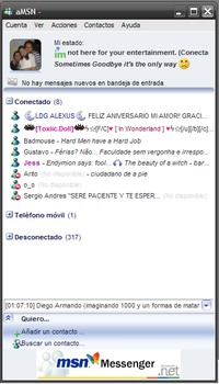 aMsn - MSN Messenger Skin by MadkaT182