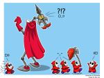 Yaridovich And Shy Guys by Goldy--Gry