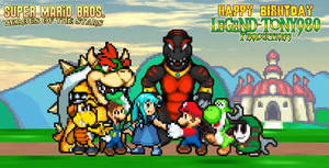 Legend-Tony980's Birthday 2014 by KingAsylus91