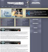 Team-Gaming design by kylie87