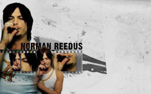 Norman Reedus by BloodyDeath11