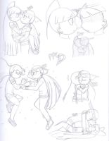 Blossick D Sketches by Sweatshirtmaster