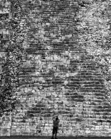 Steps, Chichen Itza by pubculture