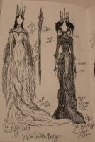 White Witch Dress Designs by Hopeiscomingforme