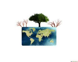 One Tree Is Left - COLORED by environment