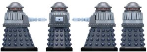 Empire Special Weapons Dalek by Librarian-bot