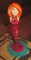 Kim Possible Chinese dress custom by TeenTitans4Evr