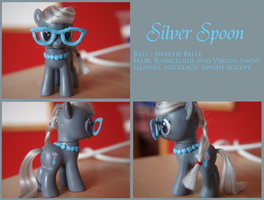 Custom Pony - Silver Spoon by Baked-Bads