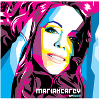 Mariah Carey WPAP by ndop