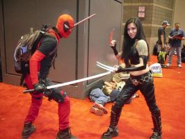 DEADPOOL TEAM-UP Guest Starring X-23 by Darth-Slayer
