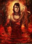 Bleach Blood Pond: Byakuya Kuchiki - Reawaken by keelerleah