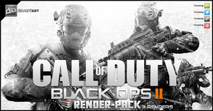 Call of Duty Black Ops II - Render Pack by Crussong