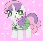 Kawaii Sweetie Belle by ACharmingPony