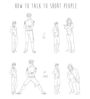 How To Talk To Short People by Raycchan