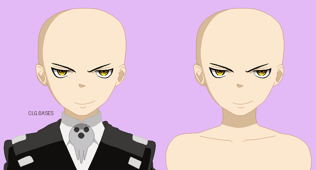 :119: Soul Eater:Death The Kid Clothed Pixel Base: by CLGbases